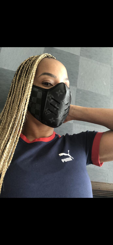 Black Grey LV COMBAT Mask