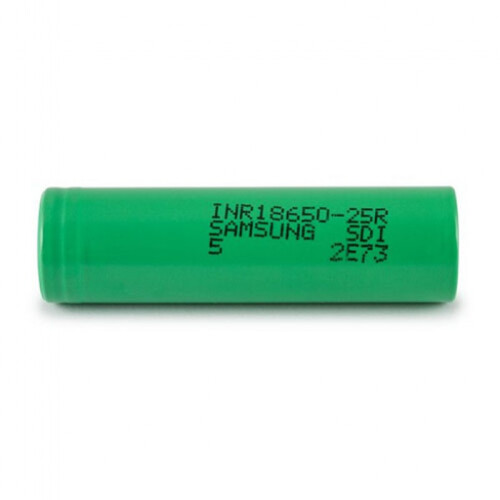 SAMSUNG 18650 25R INR 2500maH 3.7V Battery
