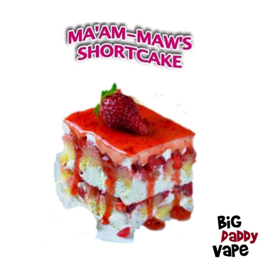 Ma'amMaws Shortcake 75/25  - 120ml