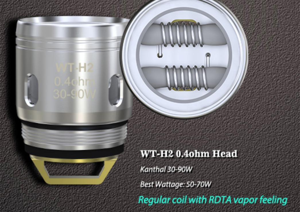 Wismec WT-H2 Replacement Coil .4ohm
