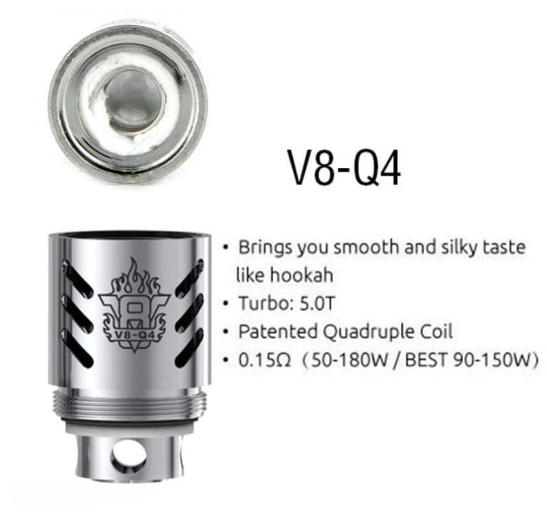 Smok V8-Q4 Replacement Coil .15ohm