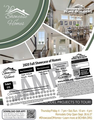 2020 Fall Showcase of Homes Book