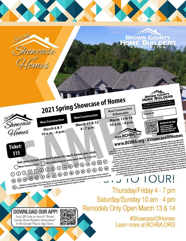 2021 Spring Showcase of Homes Book