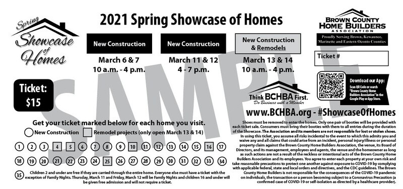 Tickets for 2021 Spring Showcase of Homes