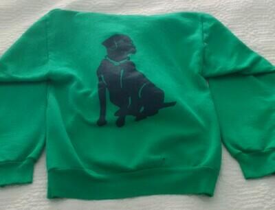 Hooded Sweat Shirt Green - Adult XXL