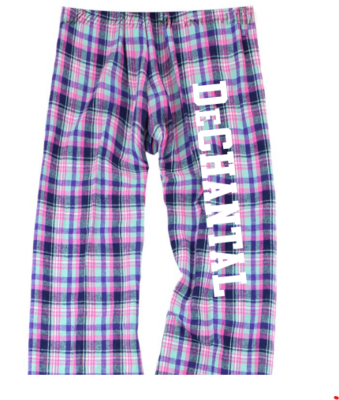 Flannel Pants Youth Pink