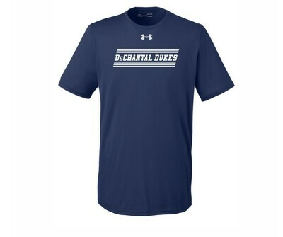 UA Short Sleeve Tee - Blue - Youth