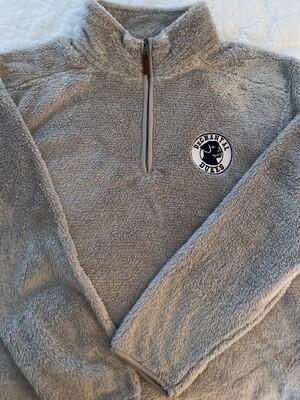 Fuzzy Fleece 1/4 Zip-Adult