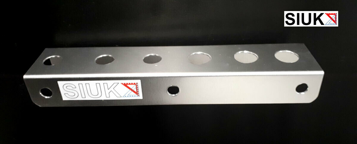 Detail Brush Holder, Valeting  Van or Wall Mount 20mm Holes. Single.