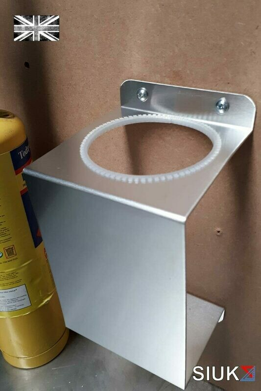 Mapp Gas Bottle Torch Solder Burner Brazer Wall Mount Plumber Workshop Van