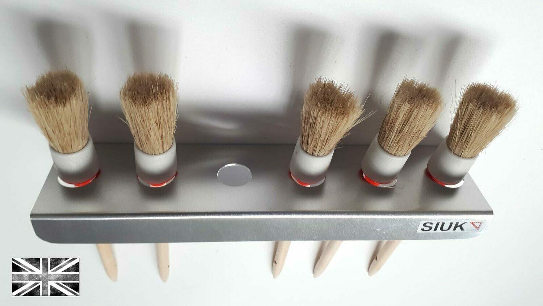 Detail Brush Holder Valeting. Van or Wall Mount 16mm Holes. Single
