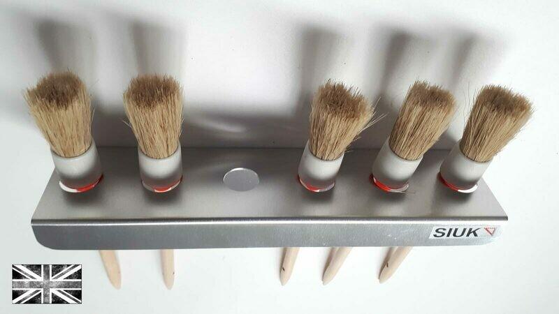 Detail Brush Holder Valeting Van or Wall Mount (Twin Set) Pack of 2