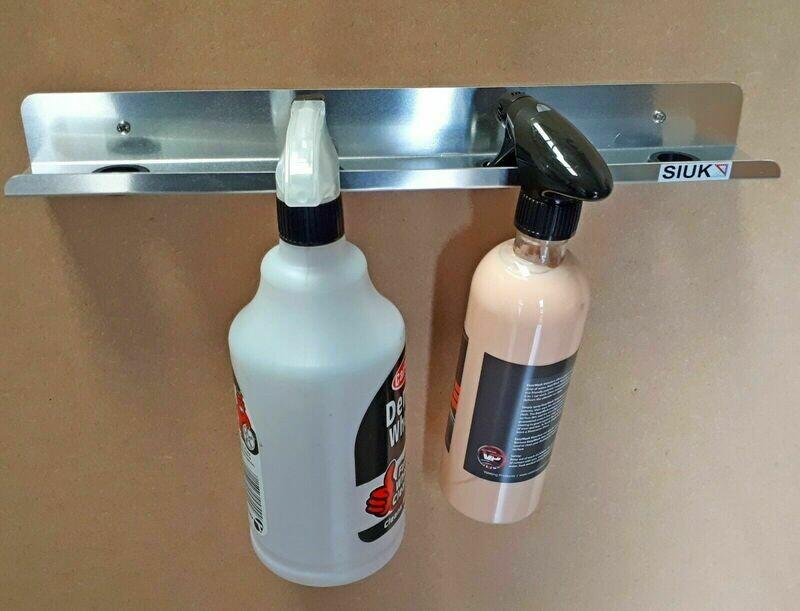 4 (1L) Spray Trigger Bottle Holder  Wall Mount, Van or Workshop