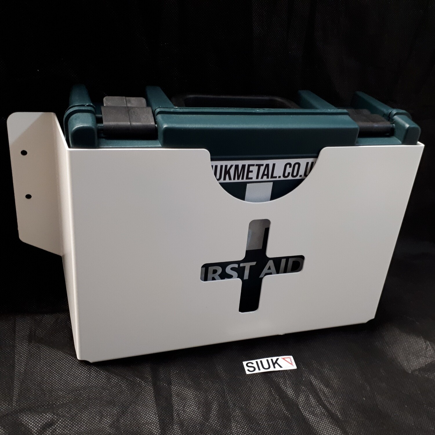 First Aid Kit & Wall Mount for Van, Workshop, Office, Retail & more