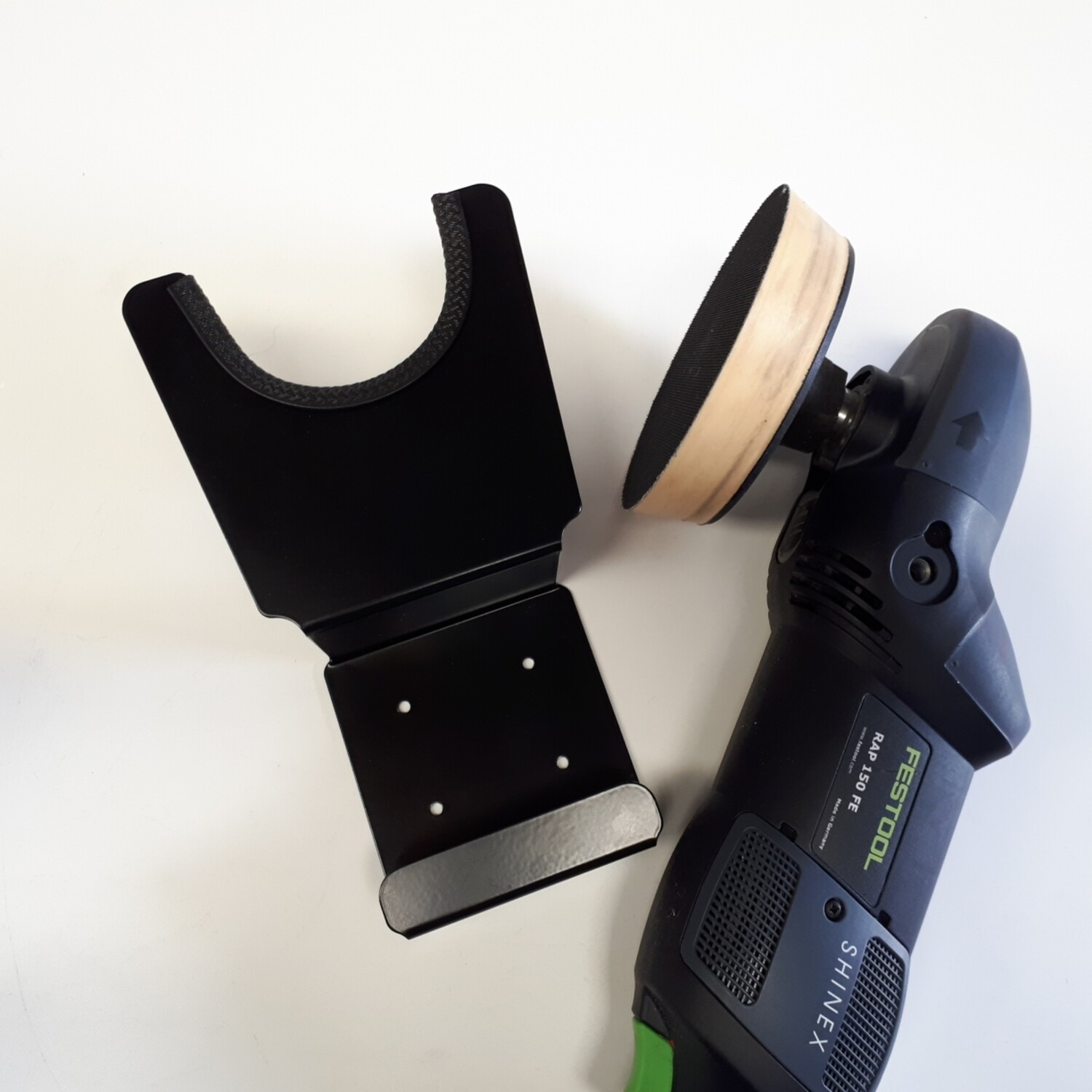 Detail DA Polisher Wall Mount with Cable Tidy