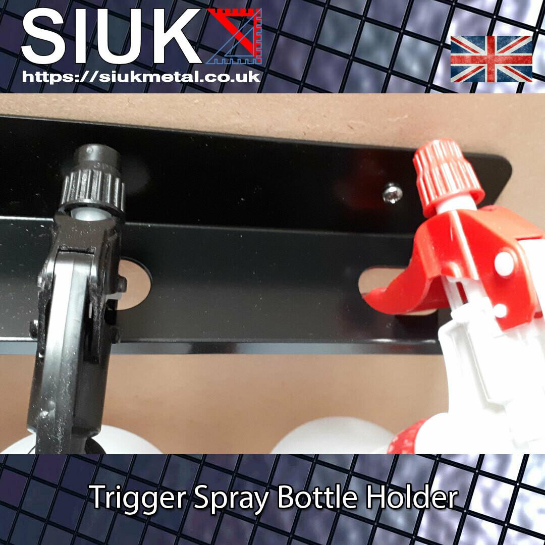 4 Detailing Spray Trigger Bottle Holder  Wall Mount, Van or Workshop