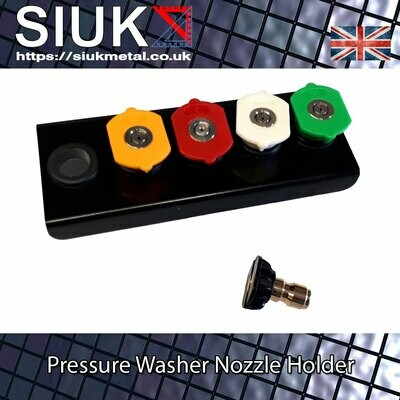 Detailing Pressure Washer Nozzle Holder Wall Mount