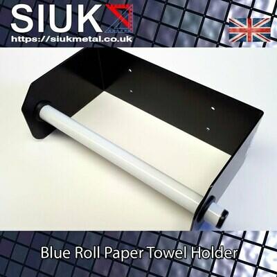 Blueroll Open Roll Feed Paper Towel Holder Black