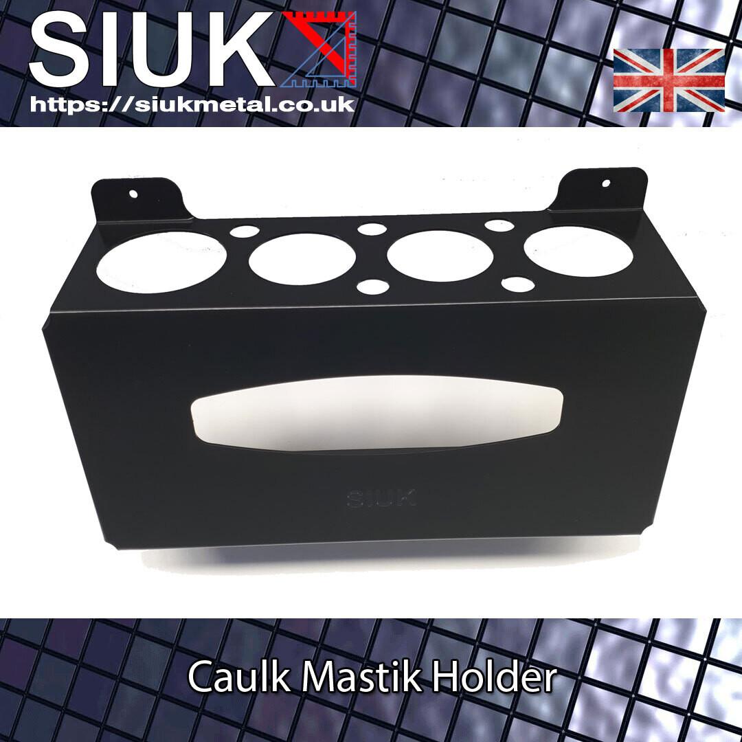 Caulk Silicone Mastick Sealant Tube Wall Mount Holder
