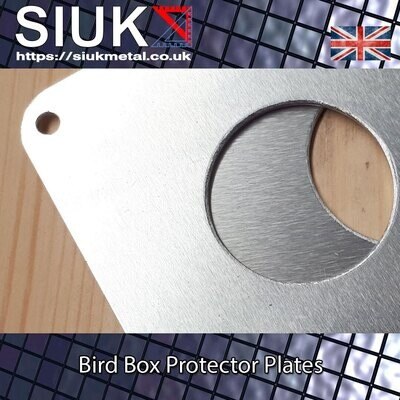 Nest Box, Bird Box Protector Plate Predator Proof