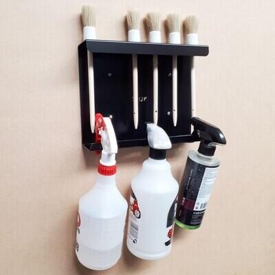 Detailing Brush & Spray Bottle Holder