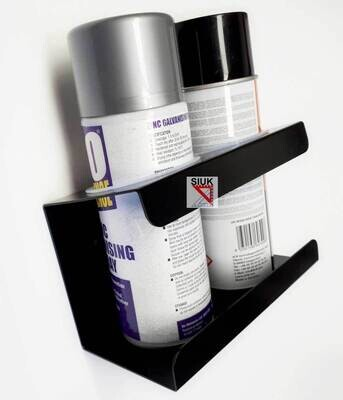 Spray Can Holder (2 Cans) Wall Mount