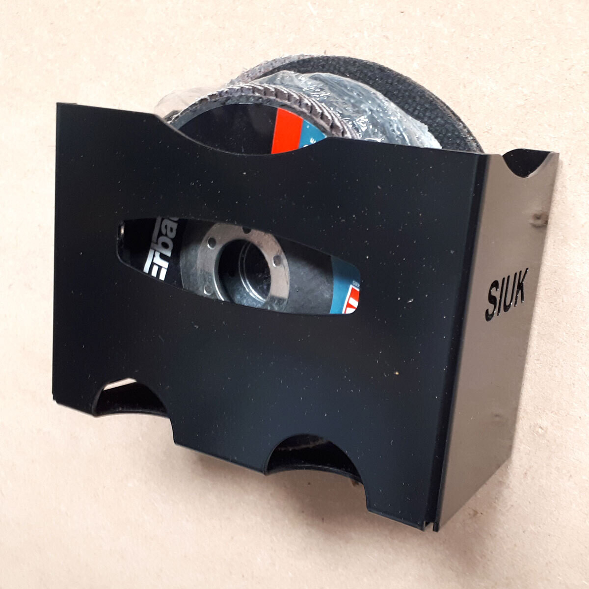 Grinding Disc Abrasive Wheel Holder Wall Mount
