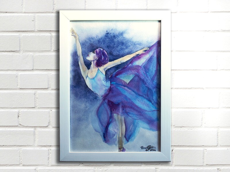 Aquarela Bailarina