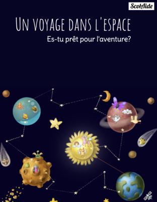 Trousse d'activités UN VOYAGE DANS L'ESPACE (activités estivales entre la 1re et la 2e année du primaire) - PDF