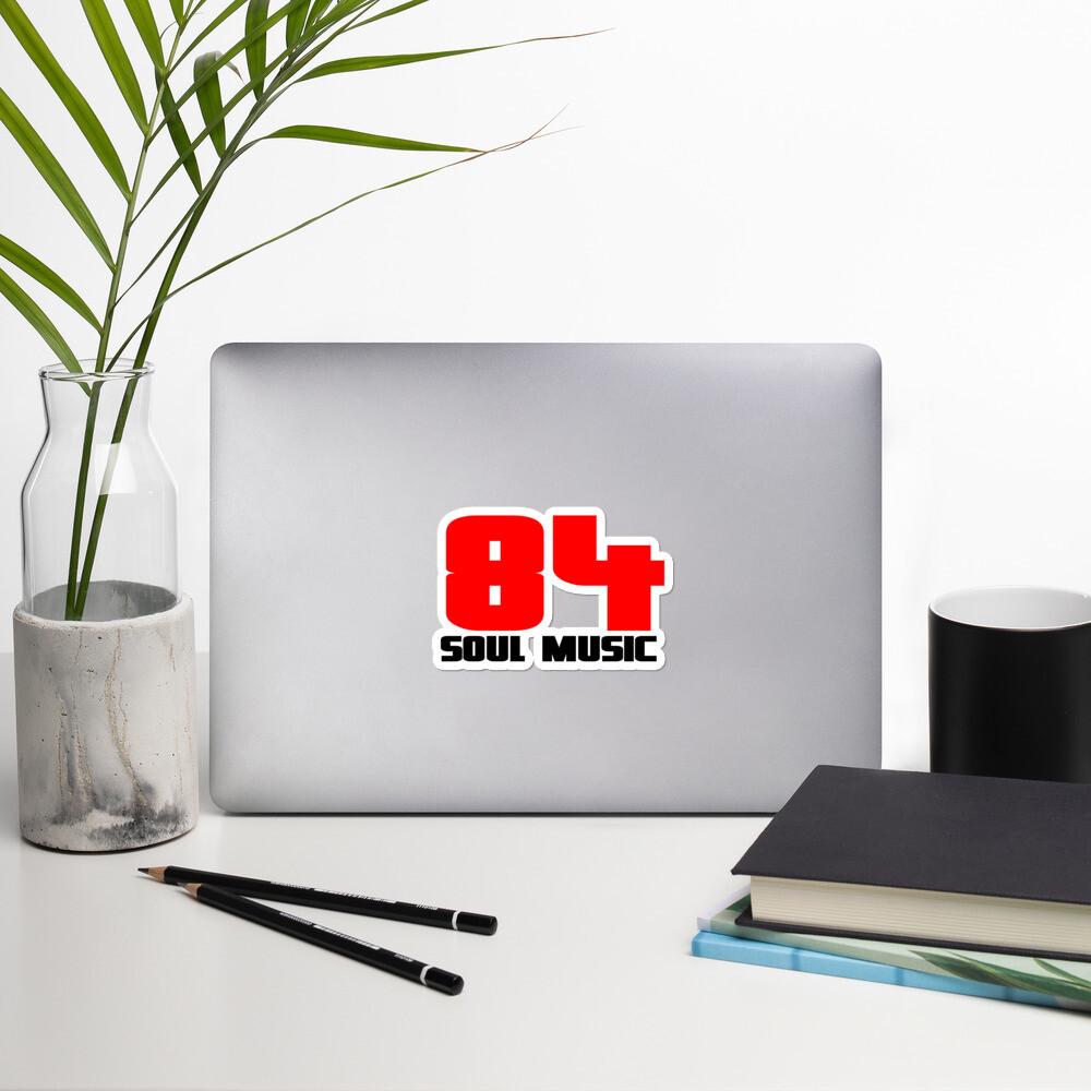 84 Soul Music Bubble-free stickers
