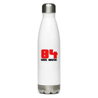 The 84 Soul Music Stainless Steel Water Bottle