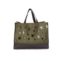 Starry Night Tote- Olive