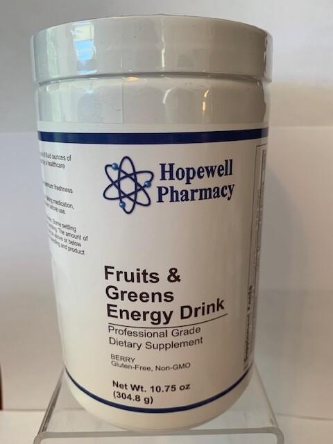 Fruits & Greens Energy Drink 10.75 oz.