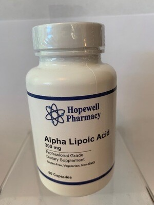 Alpha Lipoic Acid 300mg #60 caps