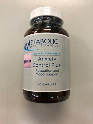 Anxiety Control Plus #90 capsules