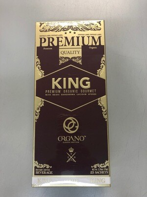 Organo King Coffee #25 sachets