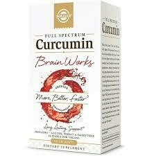 SOLGAR CURCUMIN BRAIN WORKS