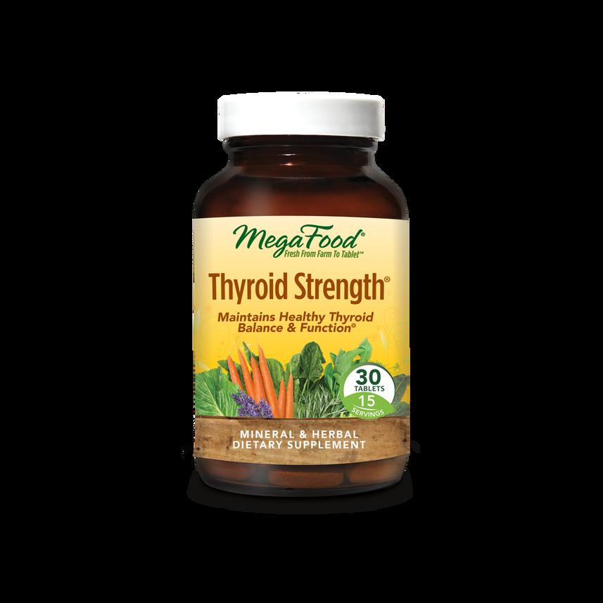 MEGA FOOD THYROID STRENGTH