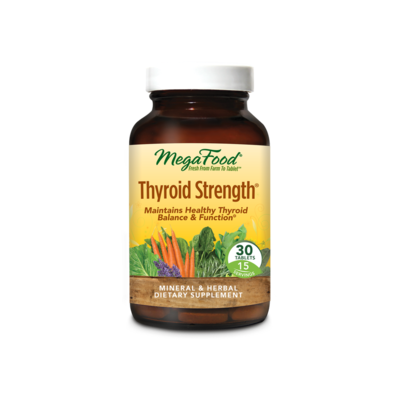 MEGA FOOD THYROID STRENGTH
