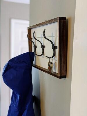 Shiplap Wall Coat Hanger