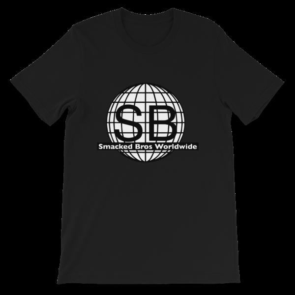 Smacked Bros First Gen Logo Black Tee