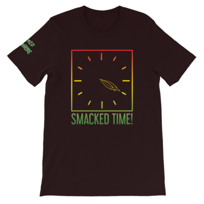 Smacked Time! Black T-Shirt