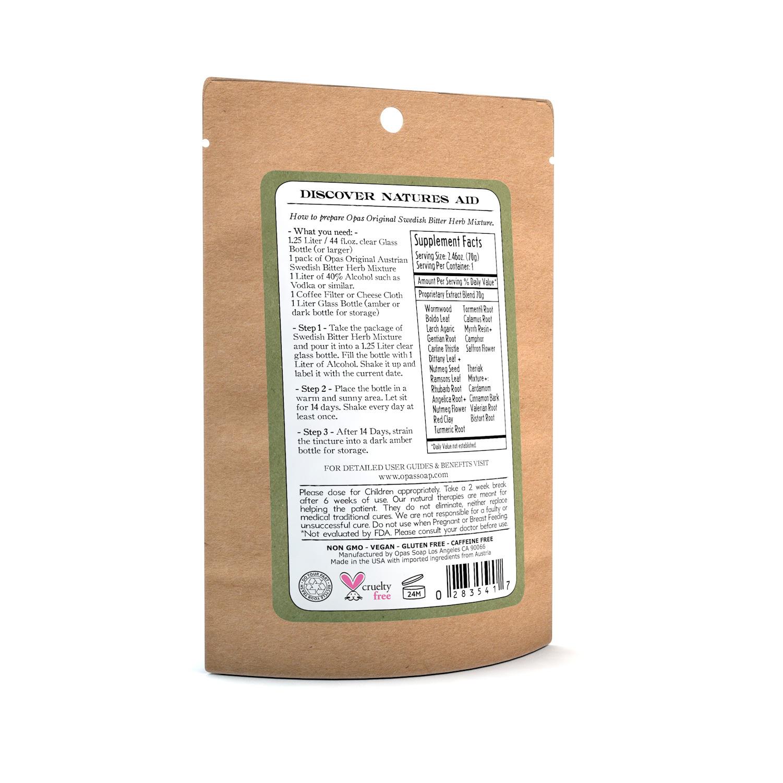 Swedish Bitter Herb Mixture