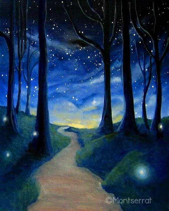 The Infinite Journey Post Card by Montserrat
