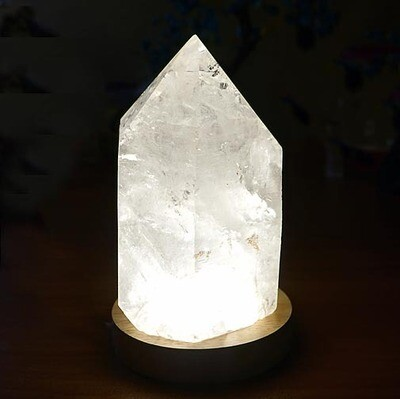 Lamp Display for Crystals