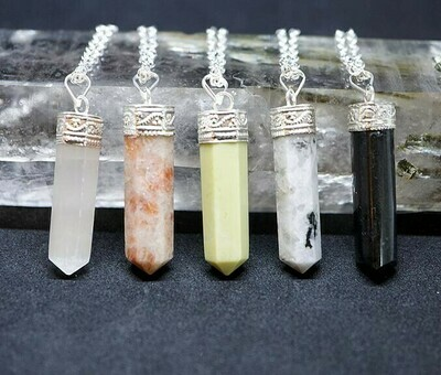 Crystal Points Pendants