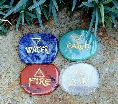 4 Elements Stone Set - Alchemical