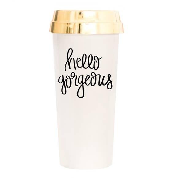 Hello Gorgeous Travel Mug