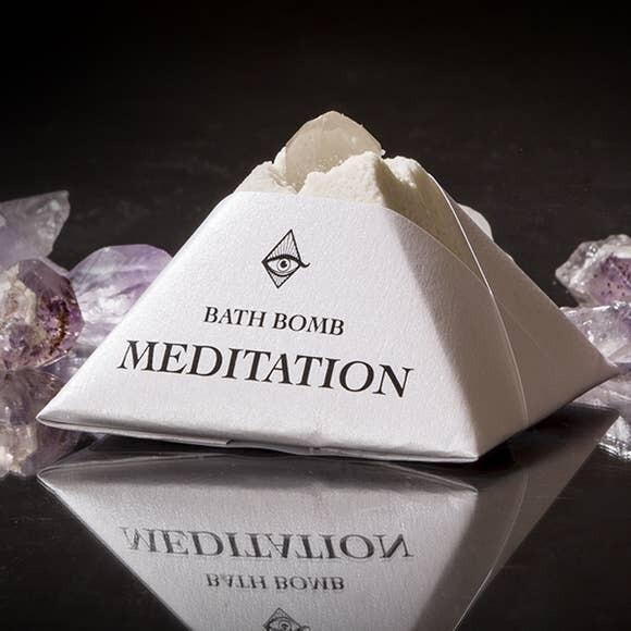 Meditation Bath Bomb- 4oz- Magic Fairy Candles