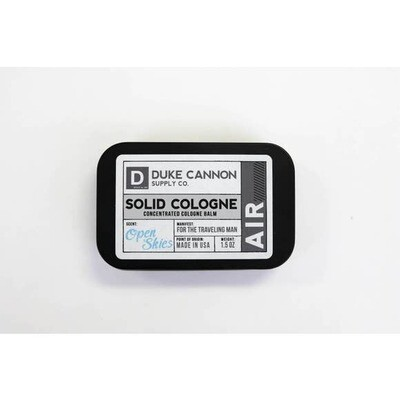 Traveling Man Solid Cologne- Duke Cannon Air